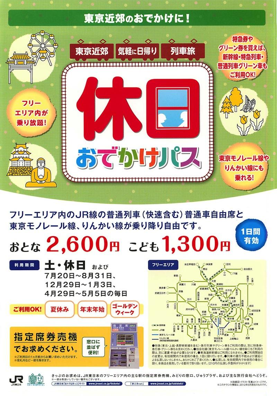高崎線130周年スタンプラリーには「休日お出かけパス」がお得?!