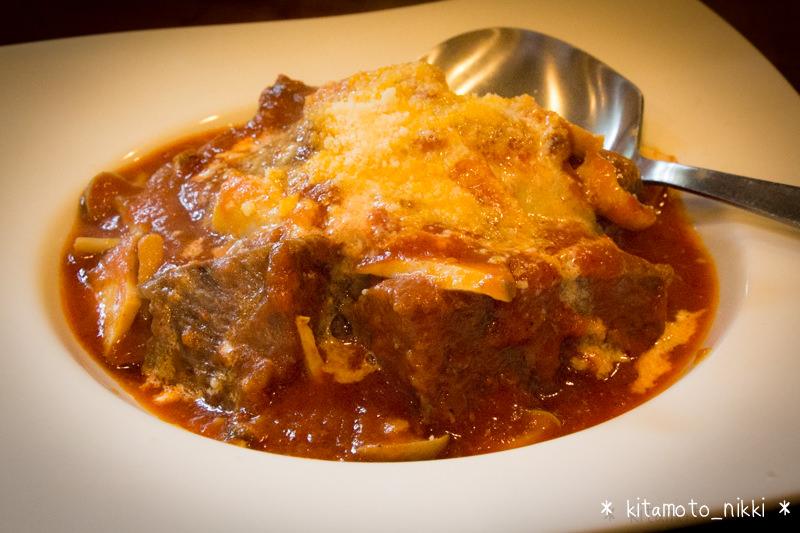 【北本・イタリアン】cucina D 〜定番 牛ホホ肉のトマト煮込みはやっぱりウマイ〜