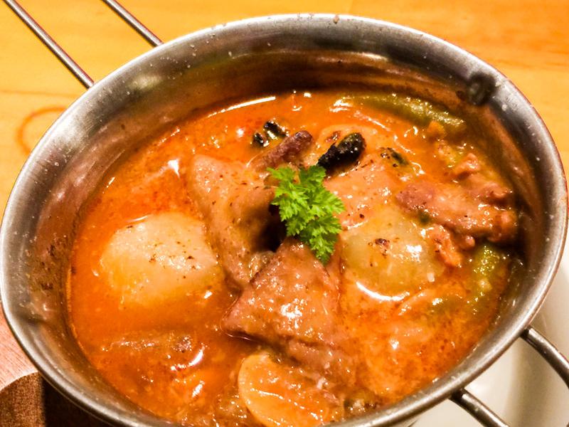 【北本・鉄板焼き】おたふくで秋ディナー。トマト味もつ煮が美味しすぎた!