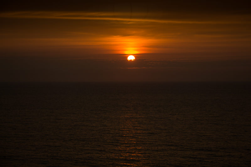 日本一の夕日を見たい! 新潟県村上市の瀬波温泉「汐美荘」に行ってきた 刻一刻と変わりゆく空の色に感動!
