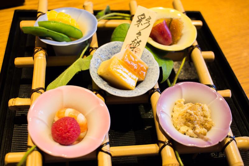 蓮田の日本料理 彩々楽(ささら)で結婚記念日ディナーしてきた