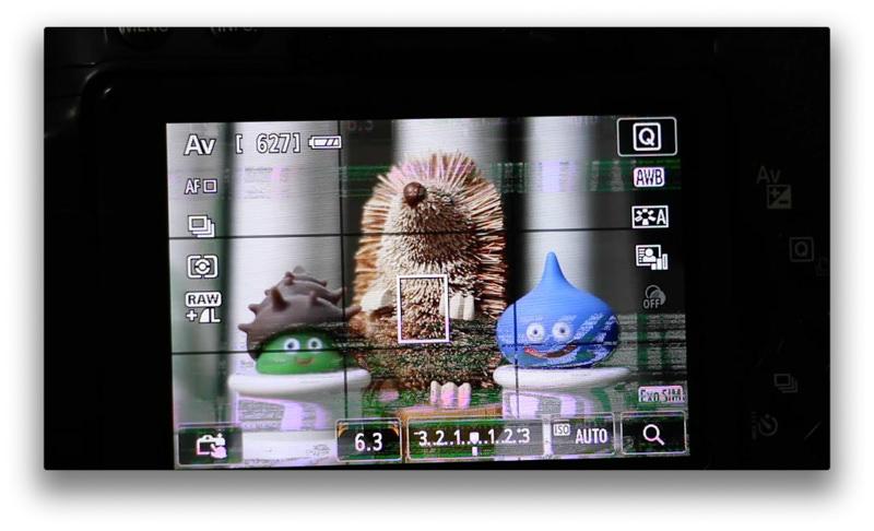 【故障】3年半使ったカメラ「EOS Kiss」が液晶異常 まるでバグったファミコン【原因不明・未解決】