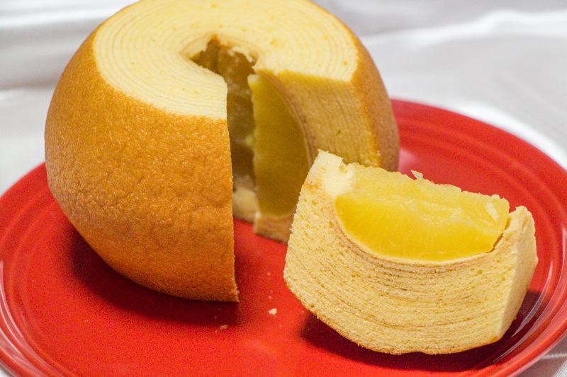 【食レポ】花園フォレスト人気No.1!丸ごとりんご入りバウムクーヘン「りんご村の収穫祭」食べてみた!
