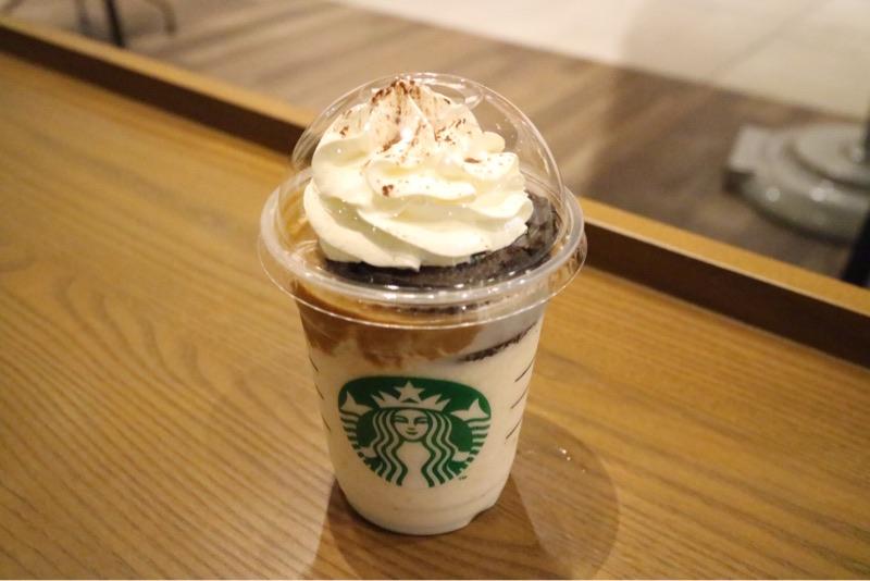 【第2弾はコーヒー味】スタバのチョコケーキフラペ、コーヒーショットを飲んでみた!