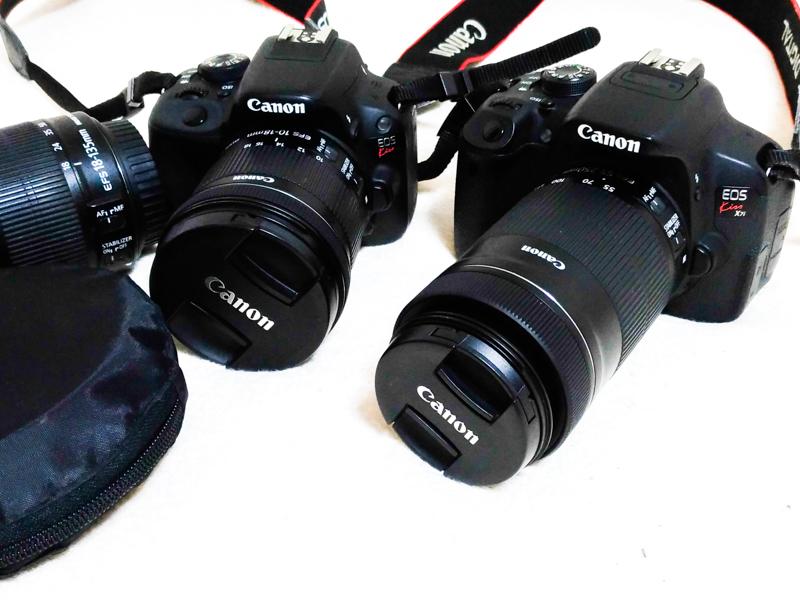当ブログで使用しているカメラ機材一覧