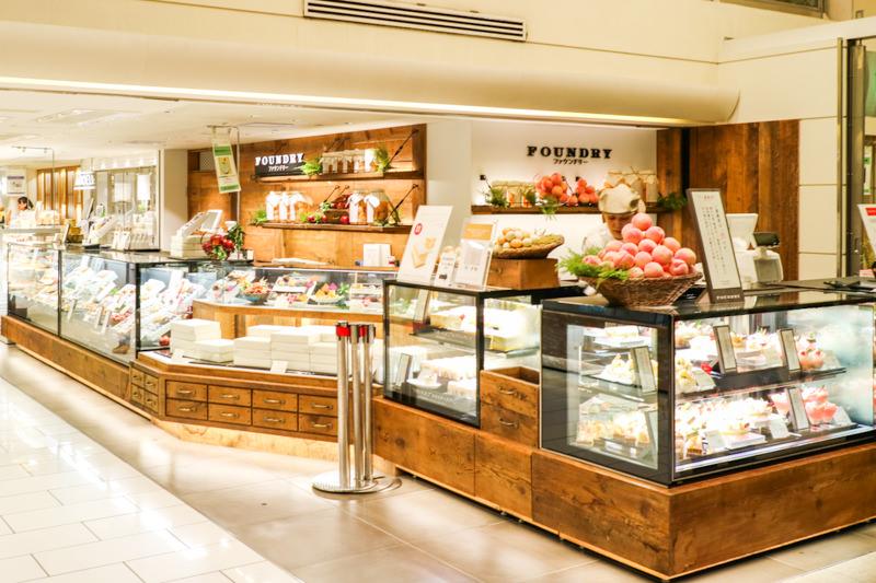 エキュート大宮に新しいケーキ屋さん「ファウンドリー」「アンデリ」がオープン(バズサーチ跡地)