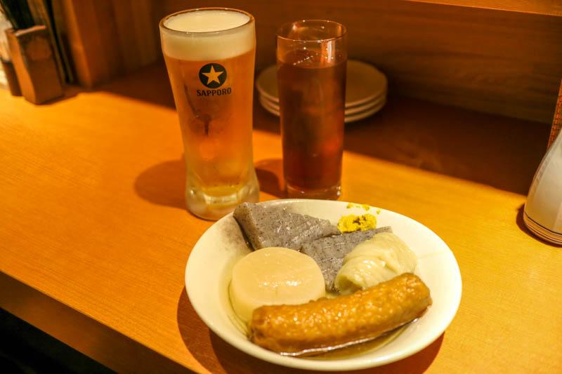 上尾の居酒屋「お多福(おたふく)」へ行ってきた!〜おでんと牡蠣とおばんざい〜