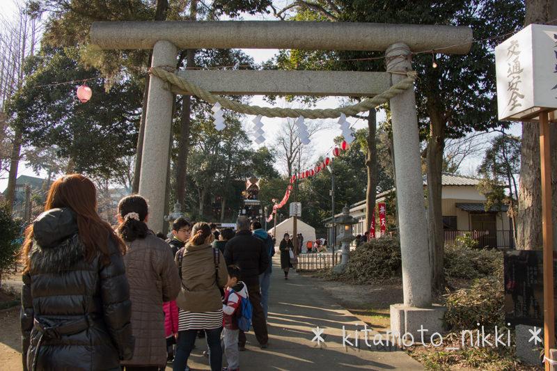 浅間神社で初詣!(2014年)