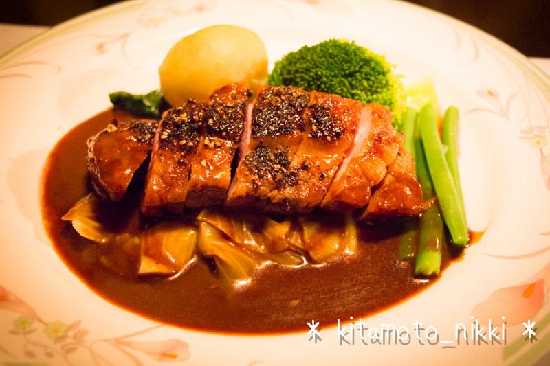 【閉店】北本東口の隠れ家風洋食屋さん「川里庵」で肉三昧ディナー!カモもヒツジも牛テールも美味!!