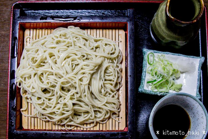 【北本・そば】あさひ庵でカツ丼セット&ツーンと香るわさびそば初体験