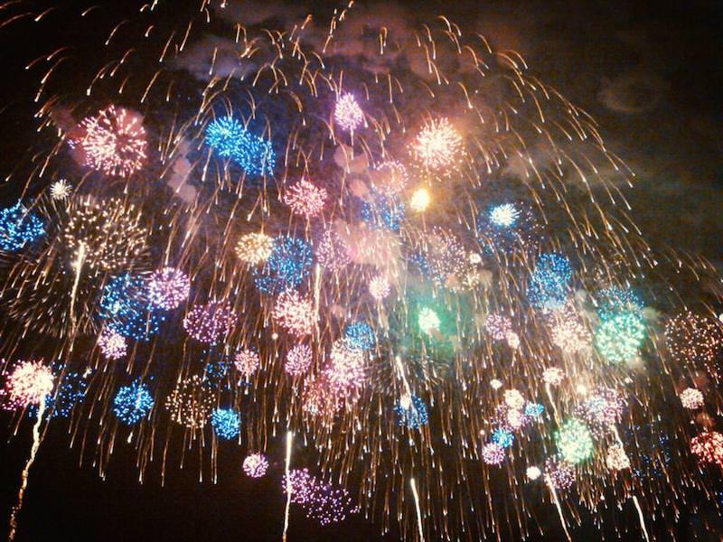 こうのす花火大会 世界最大の4尺玉がギネス認定