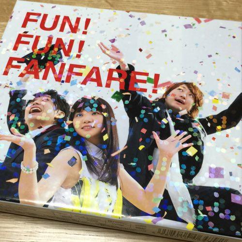 いきものがかり 7th アルバム「FUN! FUN! FANFARE!」初回限定版 買ったよ♪
