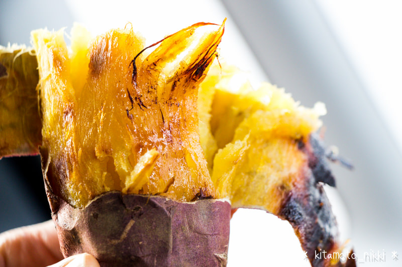 超甘い!「熊谷 芋屋TATA」で一番人気の焼き芋(紅はるか)がこんがりしっとりねっとり甘くて最高!