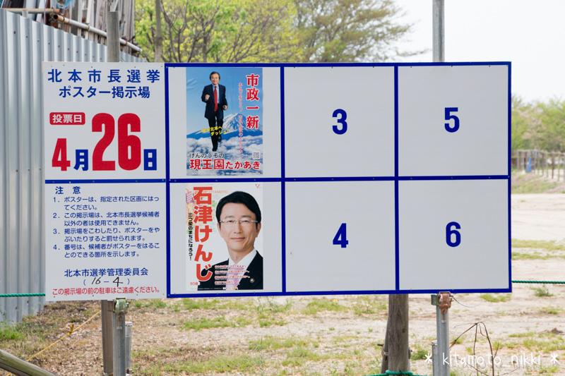 北本市長選挙 候補者一覧(統一地方選挙 2015)