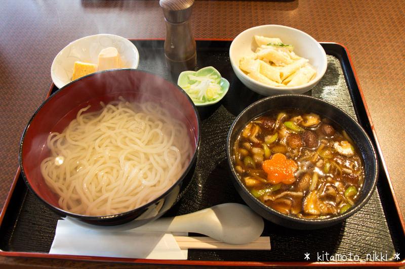 【上尾・カフェ】「山本屋又右衛門」で釜揚げつけ汁うどんランチ
