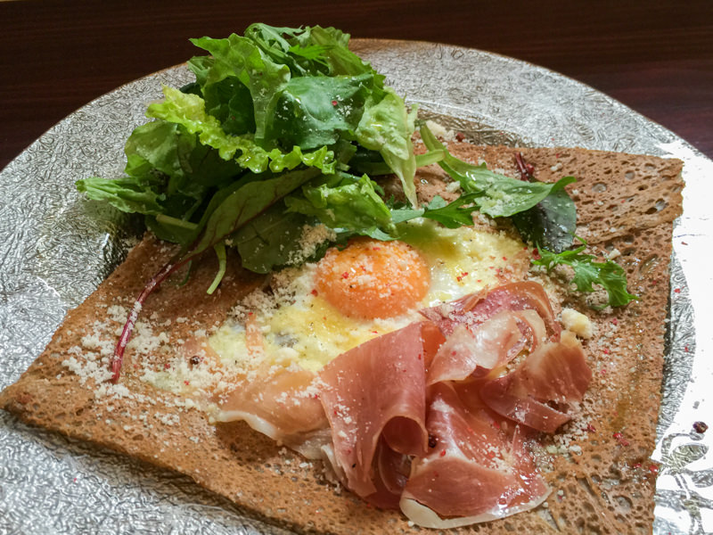 ガレット&クレープ専門店「cafe Cup(カフェチュプ)」に行ってきた! 「生ハム・たまご・チーズのガレット」美味い! キノコのペペロンチーノとほうれん草のガレットも美味い!!