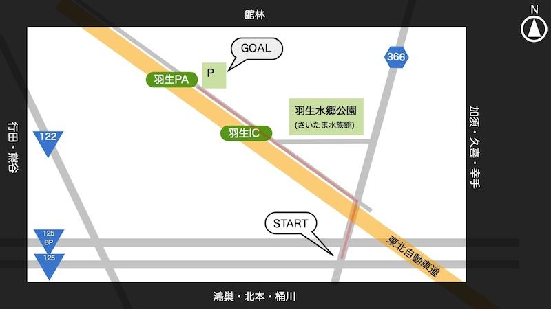 【動画】羽生PAに一般道から行ってみた【迷わず行ける】