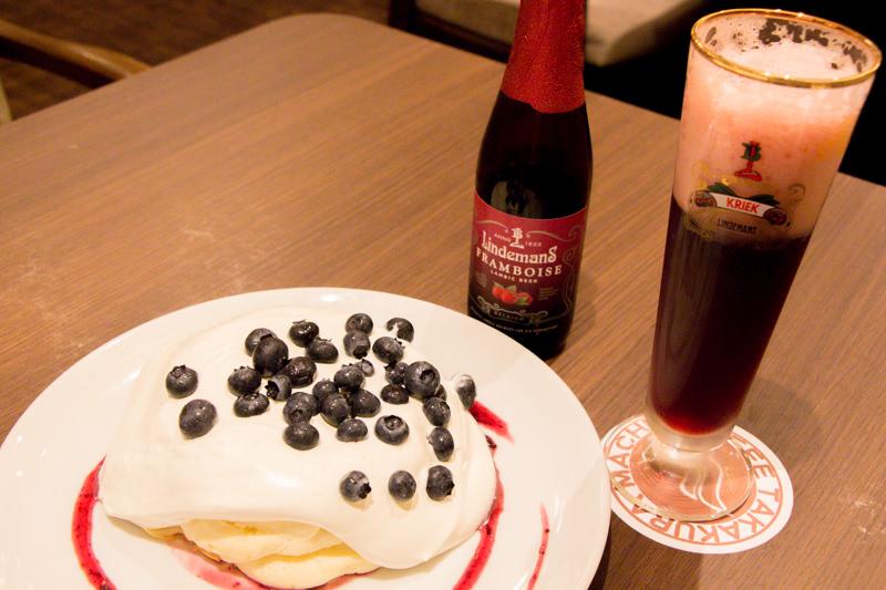 高倉町珈琲でフルーツビール2種飲んできた!〜パンケーキとの相性ピッタリ、ほんのり酔える2.5%がちょうどいい〜