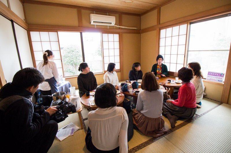 【2/25】スイーツ紅茶会がテレ玉で放送 埼玉ビジネスウォッチのまちネタで #スイーツ紅茶会