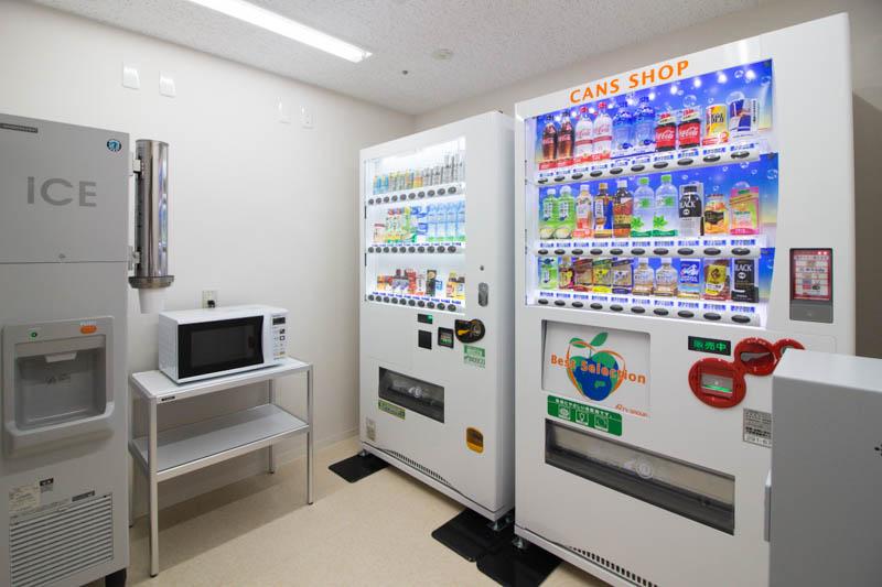 メトロポリタンさいたま新都心の館内施設ガイド 6階は自販機&ランドリー